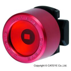 Cateye Nima 2 TL-LD135F gumipántos hátsó  villogó lámpa, 1 LED, piros