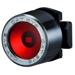 Cateye Nima TL-LD130R gumipántos hátsó  villogó lámpa, 1 LED, matt fekete