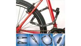 Lakat , kerékpár zár