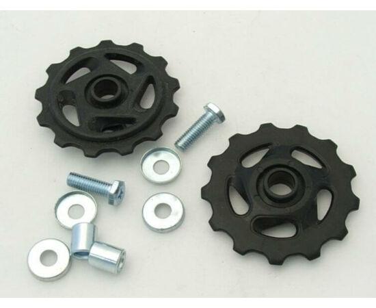 Altrix nagy méretű váltógörgő szett (alsó és felső), 13T, műanyag, fekete