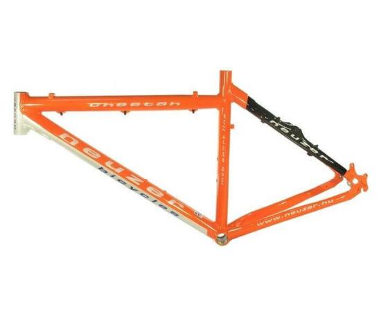Neuzer Cheetah kerékpár váz, narancs, 17 col