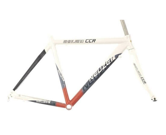 Neuzer Whirlwind CCR országúti kerékpár váz és villa szett, fehér-piros-fekete, 50cm