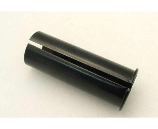 Altrix Premium nyeregcső adapter 25,4 - 28,6 mm, fekete