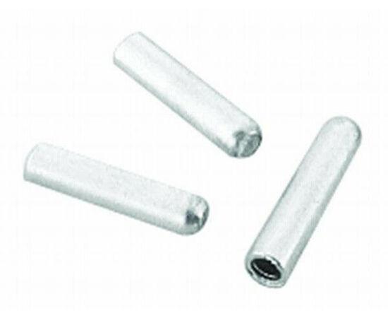 Jagwire 1,2 mm-es alumínium bowdenvég kupak, ezüst