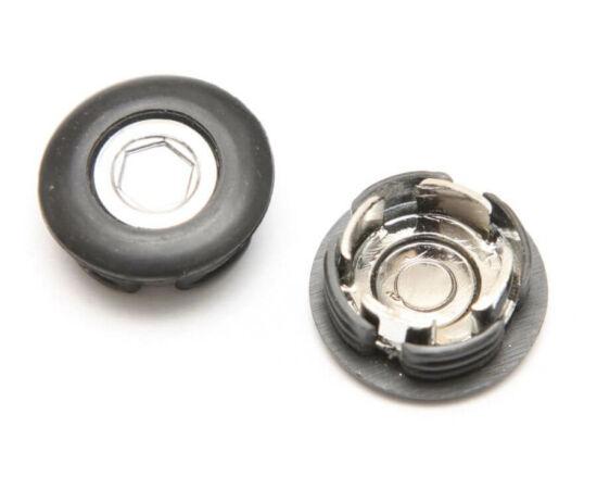 Prowheel hajtómű kupak négyszögtengelyes hajtóműhöz, fekete, párban