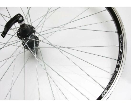 Remerx - Assess 26-os (559mm) MTB hátsó kerék, gyorszáras tengellyel, kazettás lánckeréksorhoz, fekete