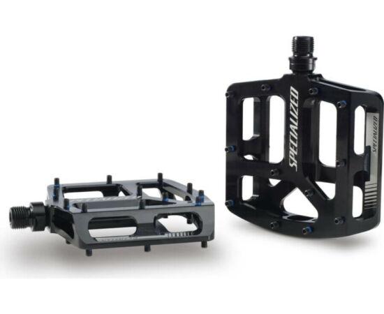 Specialized Bennies alumínium platform pedál, ipari csapágyas, cserélhető tüskés, fekete