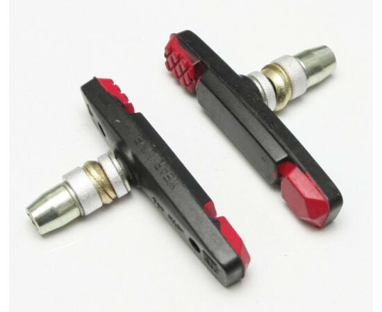 Trinity menetes fékpofa, 70 mm, fekete-piros