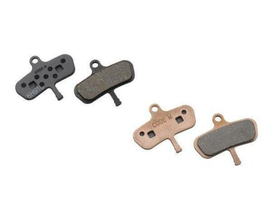 Avid Code fékbetét tárcsafékhez, acél alap - fémes pofa