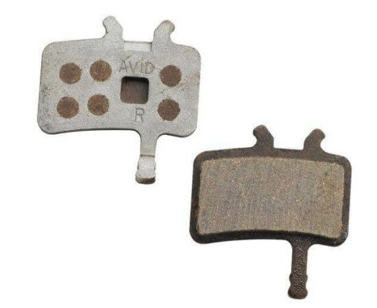 Avid fékbetét BB7 és Juicy tárcsafékhez, acél alap - fémes pofa