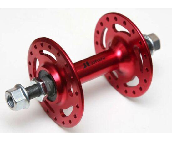 Joytech menetes pálya - fixi kerékpár első agy, Piros