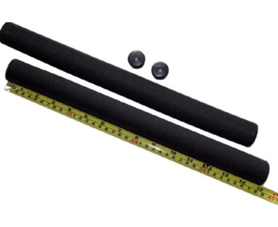 Velotech szivacs markolat, 380 mm, fekete