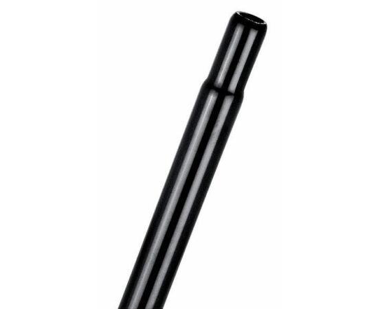 Trinity fej nélküli acél nyeregcső, 27,2 x 400 mm, fekete