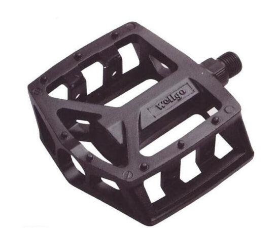 Wellgo LU-A18 alumínium platform pedál, fekete