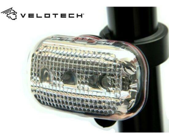Velotech 3 LED-es lámpa, fehér