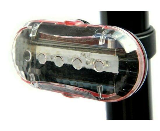 Velotech Gravel 5 LED-es lámpa, fehér
