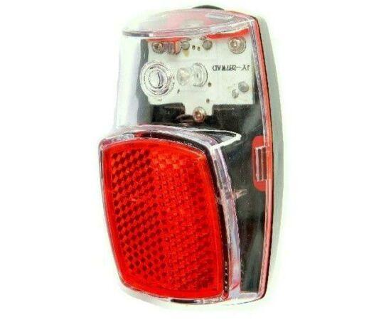 Velotech Retro 1 LED-es lámpa, piros