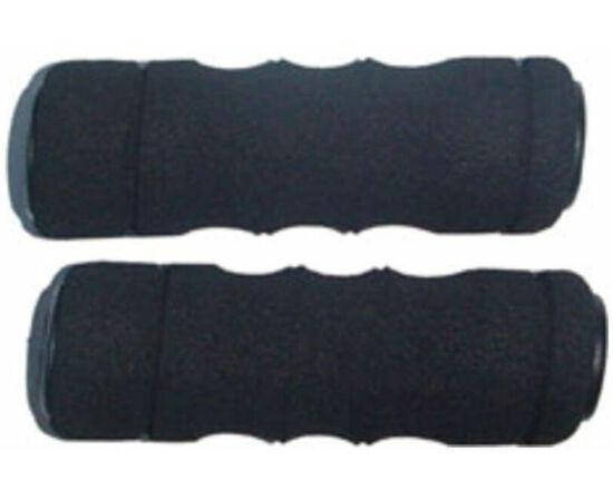 Velotech szivacs markolat fekete-fekete betét 130 mm