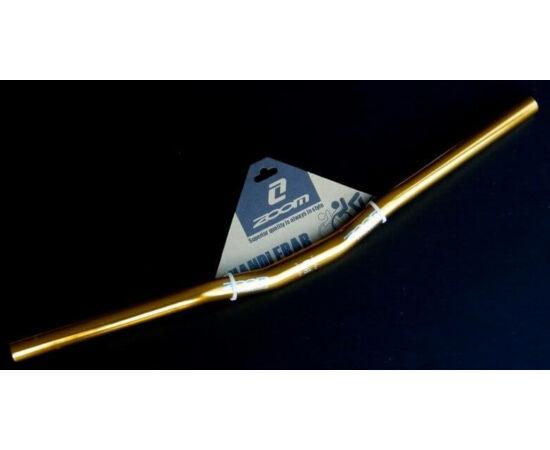 Zoom alu kormány 25,4 x 600 x 20 mm, 10 fok hátra, arany színű