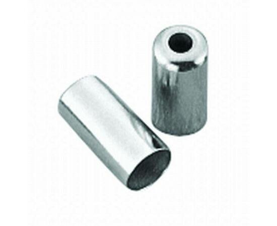 Spyral 5 mm-es fém bowdenház kupak fékbowdenházhoz, ezüst színű