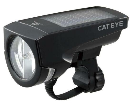 Cateye Econom HL-EL030G első lámpa, 1 LED-es, napcellás