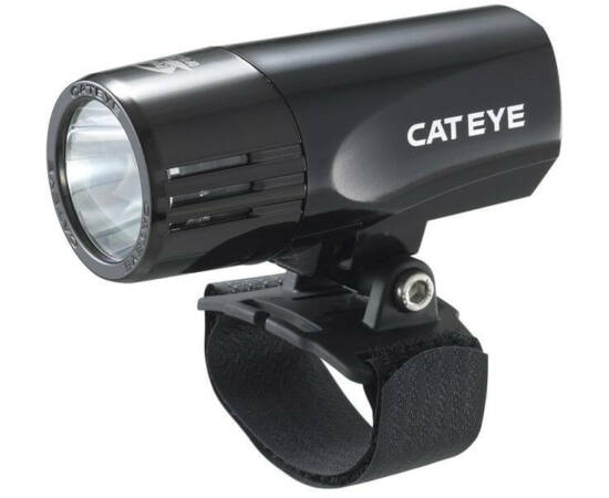 Cateye HL-EL520N első lámpa, 1 LED-es, fejvédőre