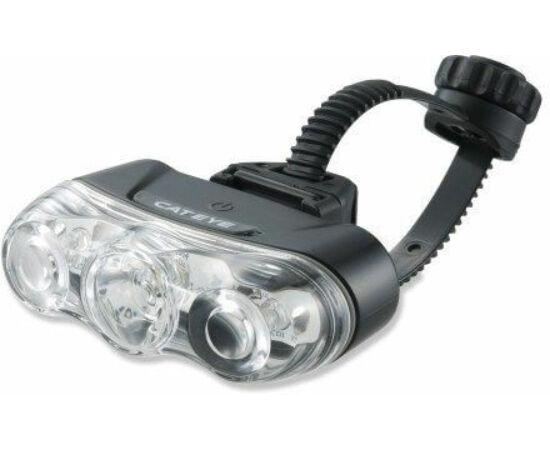 Cateye Rapid 3 TL-LD630F első lámpa, 3 LED-es