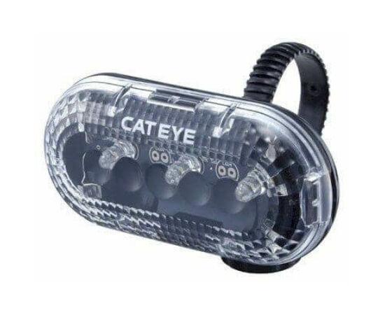 Cateye TL-LD130 első lámpa 3 funkció/3 LED