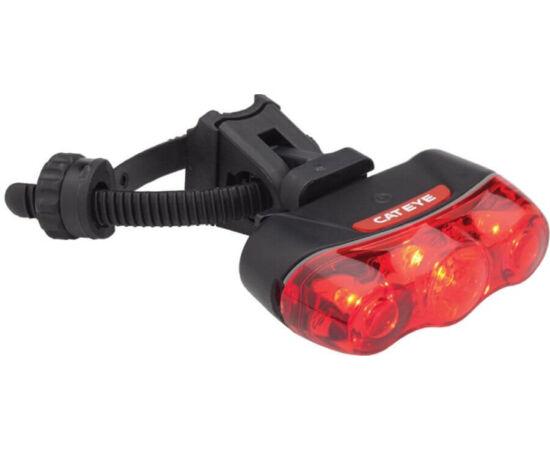 Cateye Rapid 3 TL-LD630R hátsó lámpa, 3 LED-es