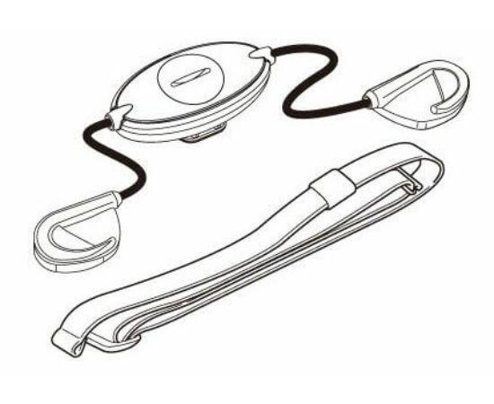 Cateye pulzusmérő érzékelő, komputerhez, CCHR200DW-hoz