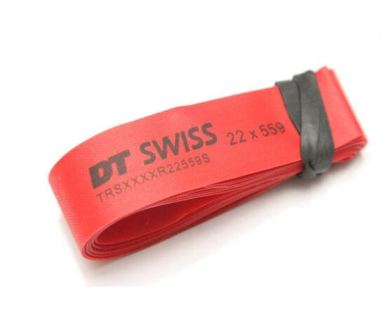 DT Swiss 26 colos (559x22 mm) MTB tömlővédő felniszalag, piros