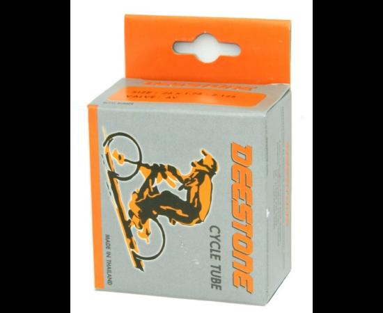 Deestone 16 x 1,5-1,75 (38/48-305) belső gumi 26 mm hosszú szeleppel, dunlop