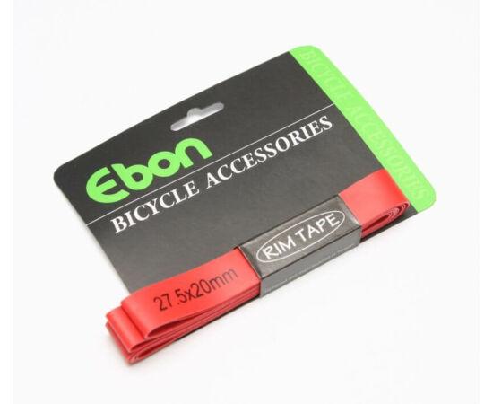 Ebon Xtra Light 27,5-es MTB (584x20 mm) nagynyomású tömlővédő felniszalag, piros, párban