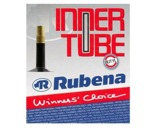 Rubena 12 x 1,5-2,1 (37/54-203) belső gumi 35 mm hosszú szeleppel, autós