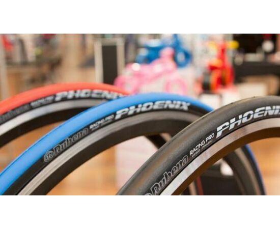 Rubena Phoenix R01 622-23 (700x23C) külső gumi, fekete, kevlárperemes, Racing Pro, 127TPI, 185g