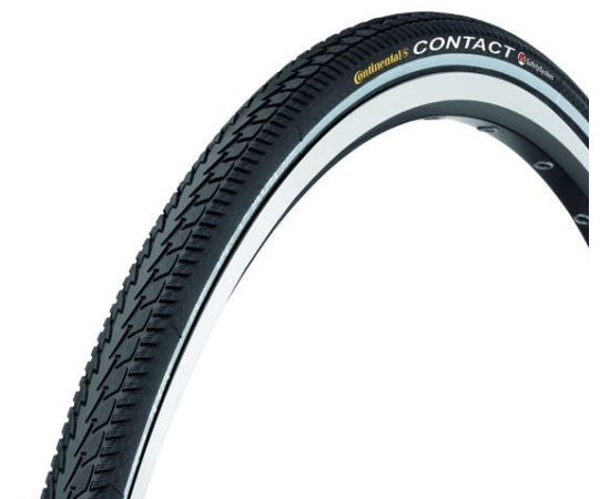Continental Contact Extra Light 28 x 1,6 (42-622) külső gumi (köpeny), defektvédett (Safety System), kevlárperemes, reflexcsíkos, 500g
