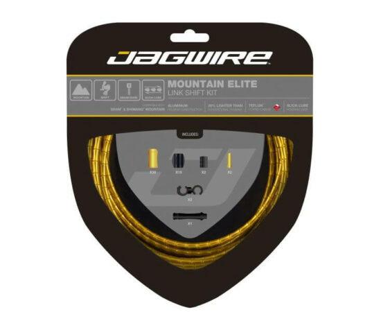 Jagwire Mountain Elite MTB váltóbowden készlet, arany színű