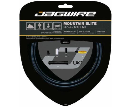 Jagwire Mountain Elite MTB váltóbowden készlet, matt fekete