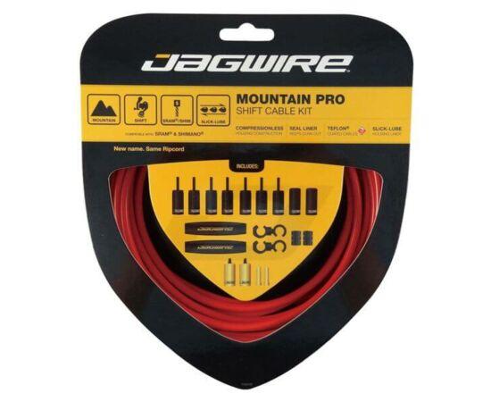 Jagwire Mountain Pro MTB fékbowden készlet, piros
