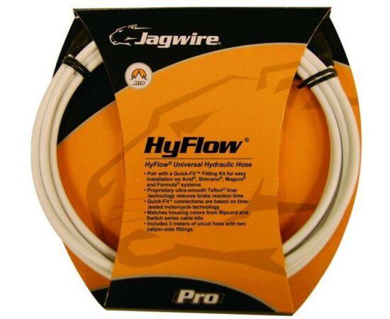 Jagwire Quick-Fit HyFlow hidraulikus fékcső, 3000 mm, fehér