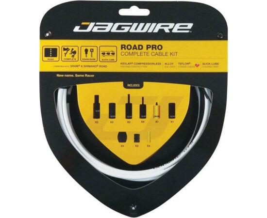 Jagwire Road Pro országúti fék- és váltóbowden készlet, fehér