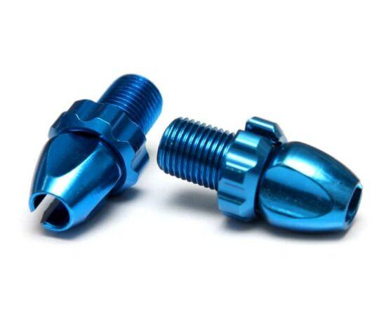 Acor ABL21504 fékbowden állító csavar, 10 mm, alumínium, párban, kék