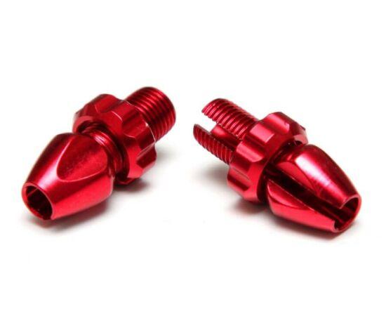 Acor ABL21504 fékbowden állító csavar, 10 mm, alumínium, párban, piros