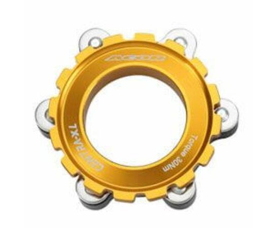 Acor ABR21501 féktárcsa adapter Centerlockról 6 csavarosra, arany színű