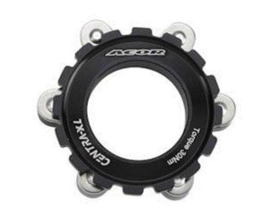 Acor ABR21501 féktárcsa adapter Centerlockról 6 csavarosra, fekete