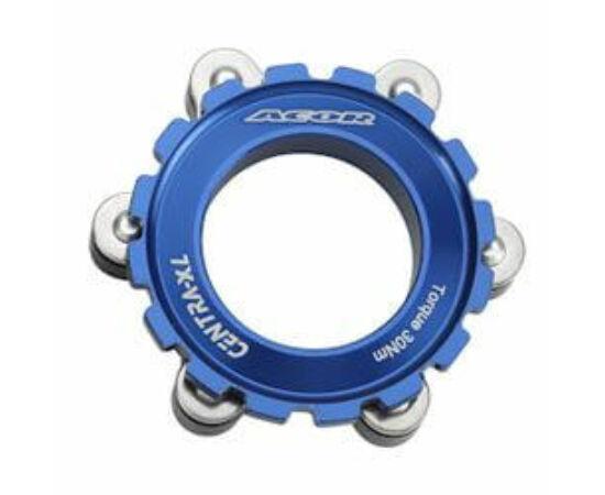 Acor ABR21501 féktárcsa adapter Centerlockról 6 csavarosra, kék
