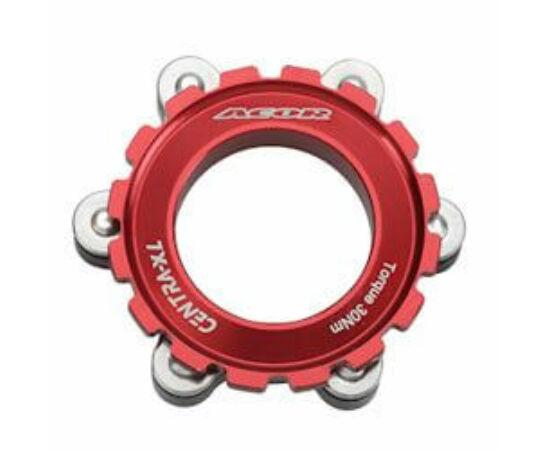 Acor ABR21501 féktárcsa adapter Centerlockról 6 csavarosra, piros