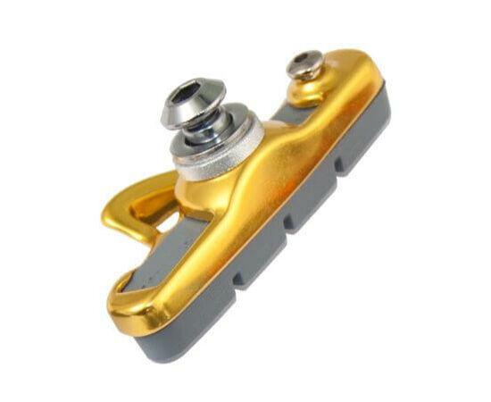 Acor ABS21202 cserélhető betétes országúti fékpofa, 55 mm, 2 pár, arany színű