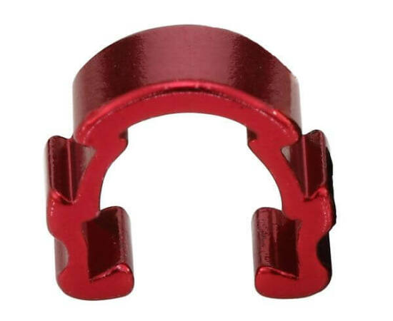 Acor ACB21401 bowden rögzítő, alumínium, 5 db, piros