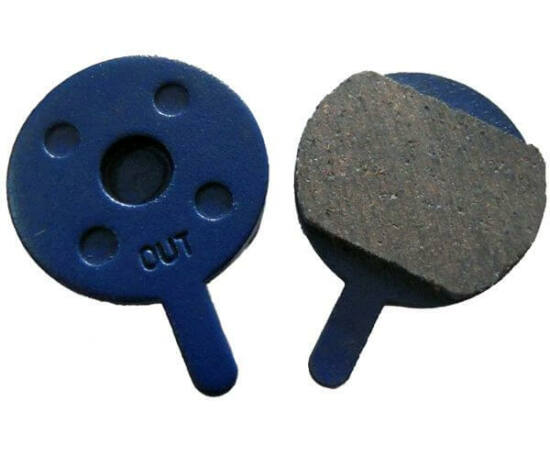 Acor ABS2101 tárcsafék fékbetét Promax mechanikus  fékhez, acél alap, fémes pofa, 1 pár